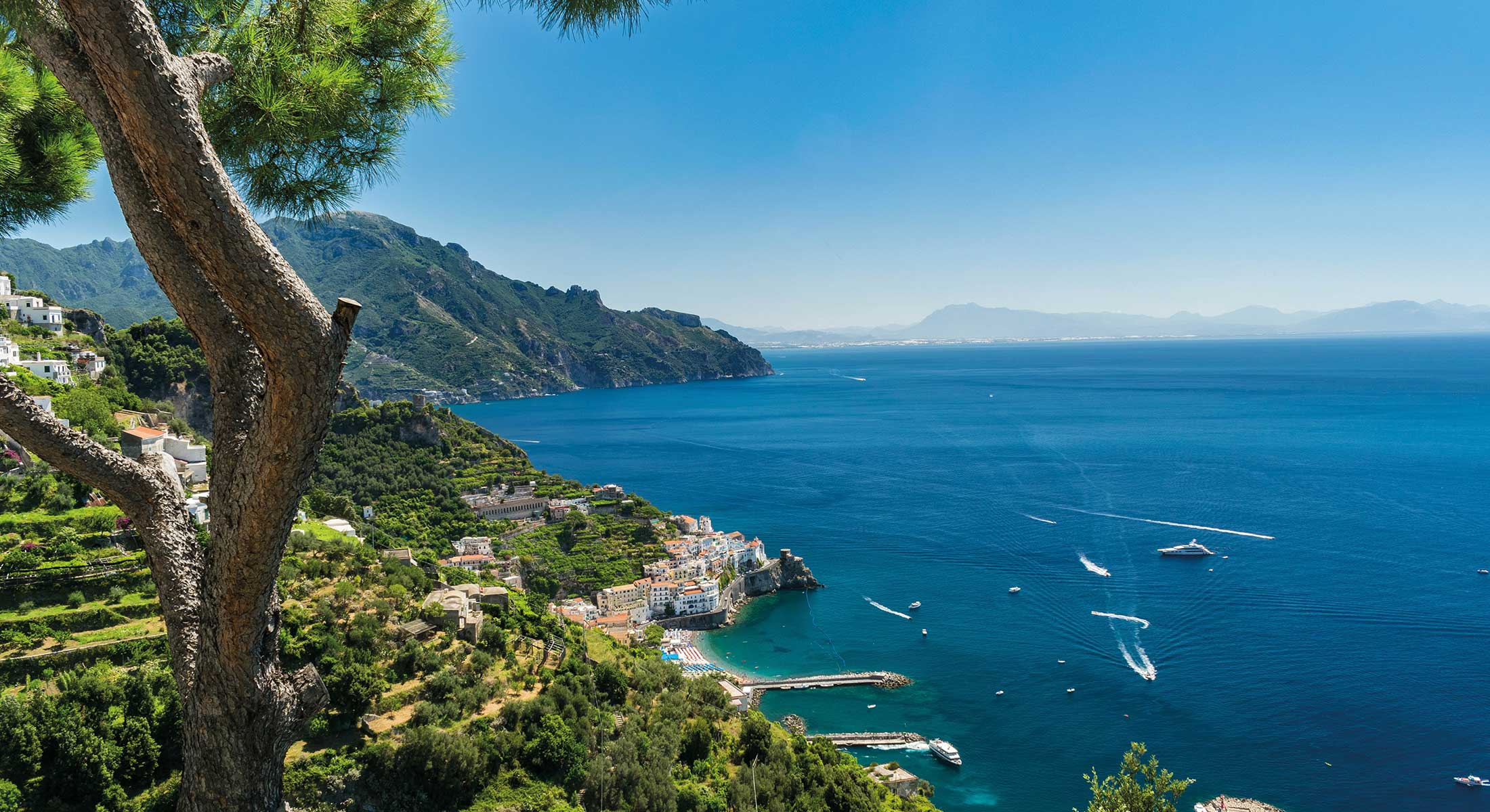 Amalfi and inland wine tour